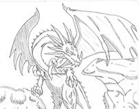 Dragon in the Field