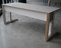 Plywood Office Desk