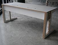 Plywood Office Desk