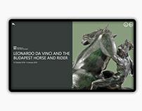 Leonardo da Vinci and The Budapest Horse and Rider