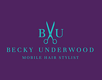 Becky Underwood Mobile Hair Stylist Branding