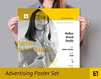 Advertising Poster Set