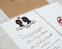 Star Wars Inspired Wedding Invites