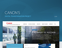 Canon Business Services Digital Transformation Project