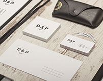 D&P wedding identity
