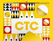 CTC. Set of New Year's gifts