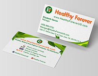 Complete Branding _ Healthy Forever