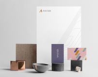 Anjad brand design.