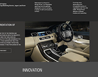 Luxury Car Concept Homepage