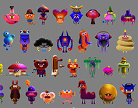 100 Affinity Designer characters