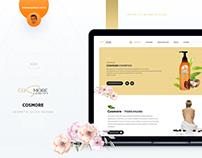 Cosmore UI/UX Design