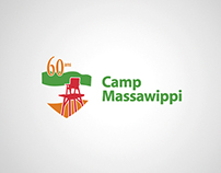 Portfolio identité - Logo, Camp Massawippi, 60 ans