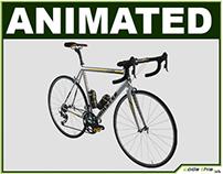 Ultra-Realistic Racing Bicycle CG