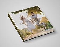 Identidade, design e diagramação para álbum fotográfico