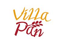 Villa Pan - Logo Options