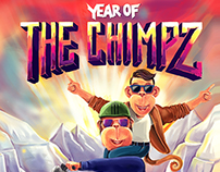 Year Of The Chimpz Poster