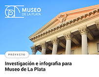 Infografia para Museo de La Plata
