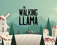 The Walking Llama | Animation