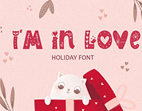 I Am In Love Font • FREE Color Typeface