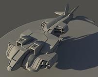 Modelado 3D - Nave