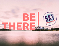 Sky Vacations Rebrand