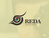 Reda logo with golden ratio