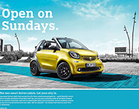 SMART 2016, Cabrio, fortwo,forfour