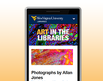 Art in the Libraries RWD