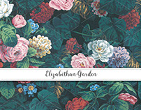 Elizabethan Garden Gift Wrap & Invitation Collection