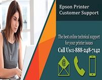 Epson Printer Customer Support 1-888-248-7142