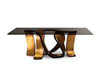 RIBBON Dining Table | By KOKET
