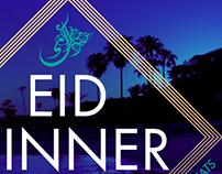 Eid Dinner flyer