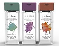 e-clean hand gel