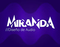 MIRANDA Diseño de Audio · Branding