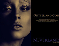Glitter and Gold for Neverland Magazine