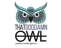 That Goddamn Owl || Branding & Website