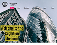 Cognition Museum web page