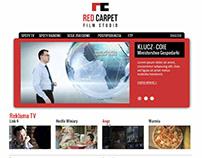 Red Carpet Film Studio - website design
