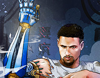 Anta Sports | Klay Thompson project NBA Fianls.