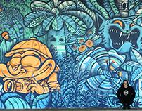 Mambo Jungle wall