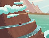 Mixed Animation Backgrounds