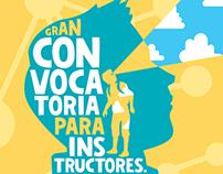Posters promocionales Clubes de Cienca Colombia 2015