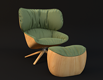 Chair with Rest|Arnold 5
