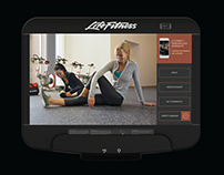 Life Fitness Discover SE3 HD Console App