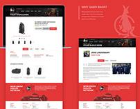 Website Design and Development   UX and UI   Gardbags