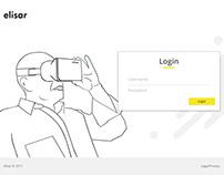 Elisar - Admin login Page Inspiration