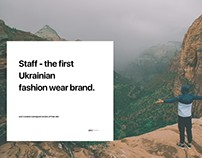 Staff - the first ukrainian fashion wear brand