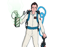 Ghostbusters Character concepts and lineup