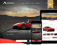 RentPro - Car Dealer's Website