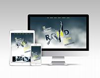 Website design for a Conference
